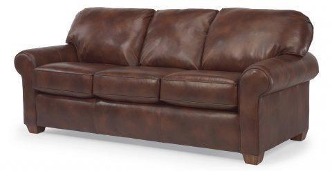 Charmant Flexsteel Leather Sofa 3535 31 In Portland, Oregon