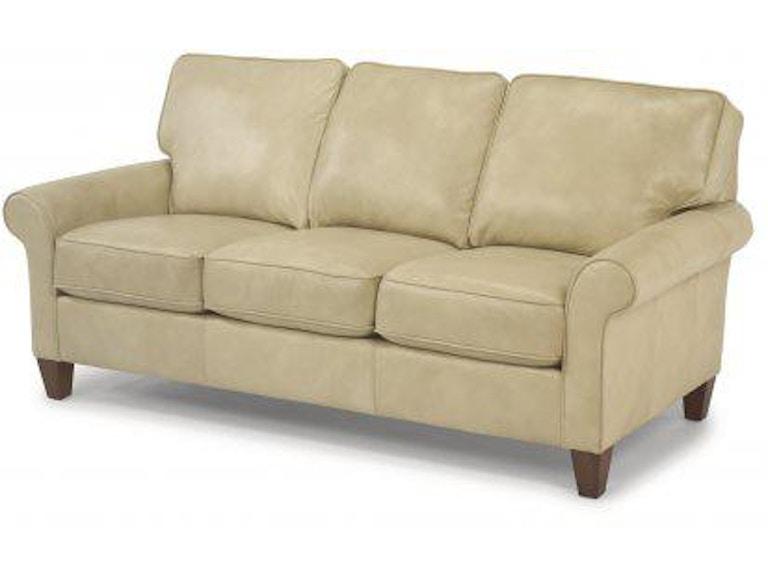 Flexsteel Westside Leather Sofa 3979-30 - Portland, OR