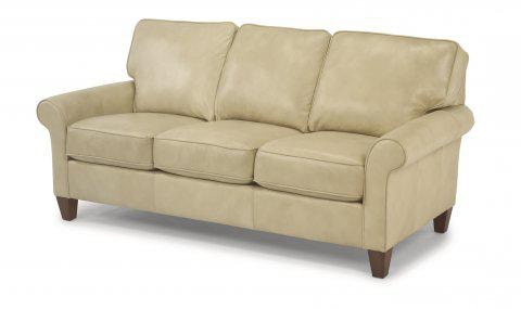 Flexsteel Leather Sofa 3979 30 In Portland, Oregon