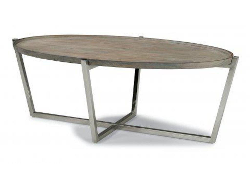 Flexsteel platform oval coffee table w1433 033 portland or flexsteel oval coffee table w1433 033 geotapseo Images