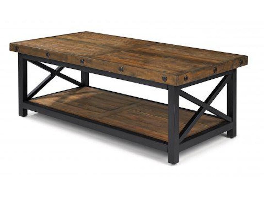 Flexsteel Carpenter Rectangular Coffee Table 6722 031 Portland Or Key Home Furnishings
