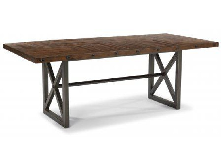 Flexsteel Rectangular Dining Counter Table W6722 831