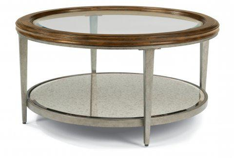 Flexsteel Round Coffee Table 6727 034 In Portland, Oregon