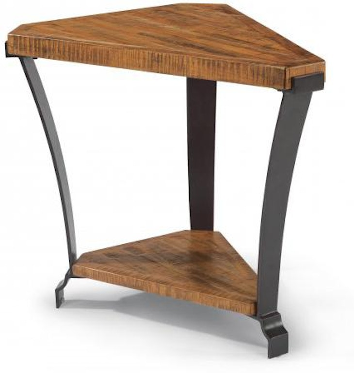 Rustic Wedge End Table Easy Craft Ideas