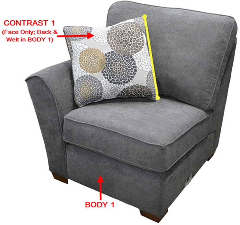 Furniture Stores Portland Metro Area: Stanton LSF 1 Arm Chair 11224L - Portland, OR