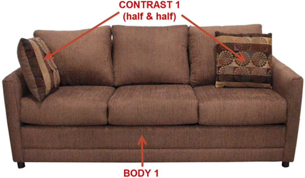 Stanton 3 Cushion Sofa 20001 - Portland, OR | Key Home Furnishings