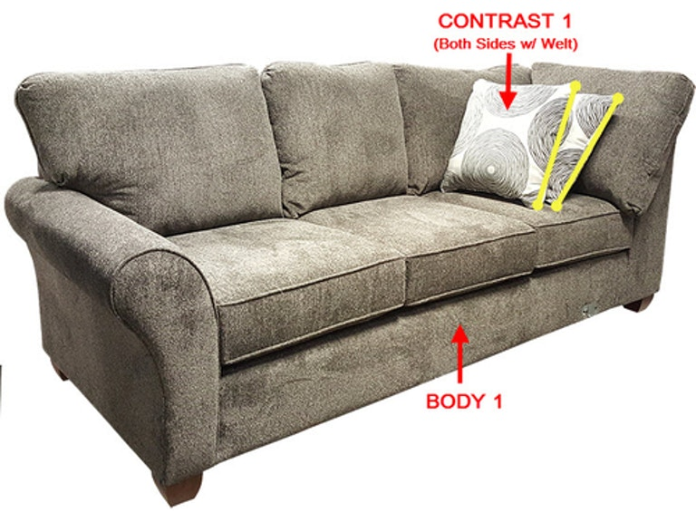 Marvelous Stanton Rsf 1 Arm Loveseat 18612R Portland Or Key Home Home Interior And Landscaping Dextoversignezvosmurscom
