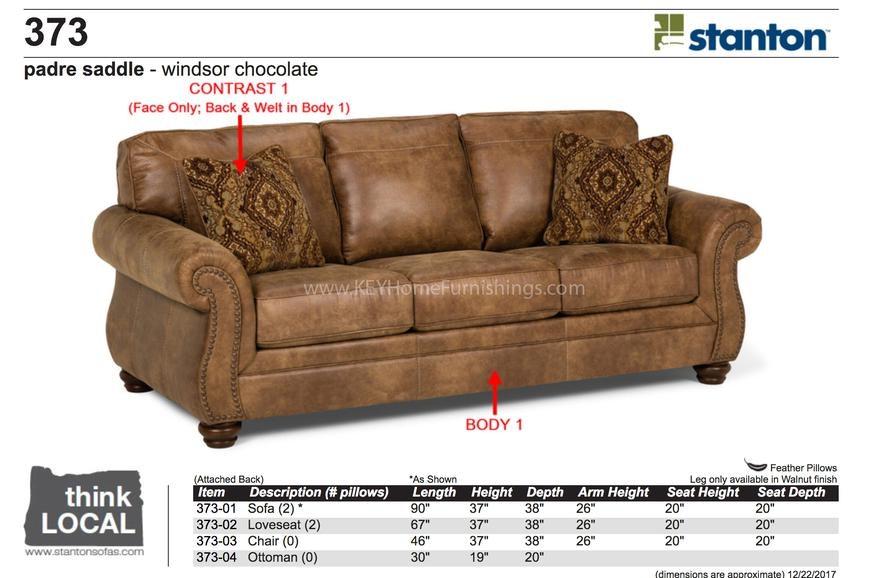 Stanton Furniture Sofa 37301 In Portland, Oregon