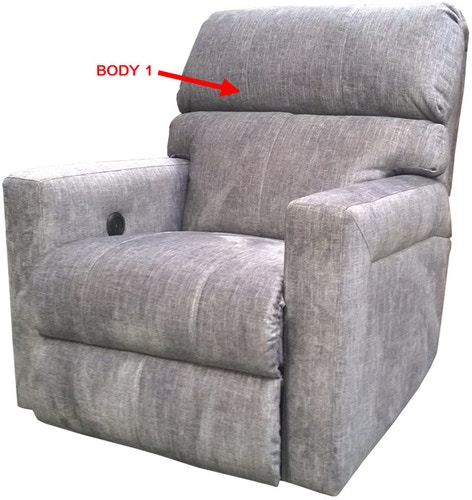 Stanton Furniture 845 Power Reclining Chair 84553P