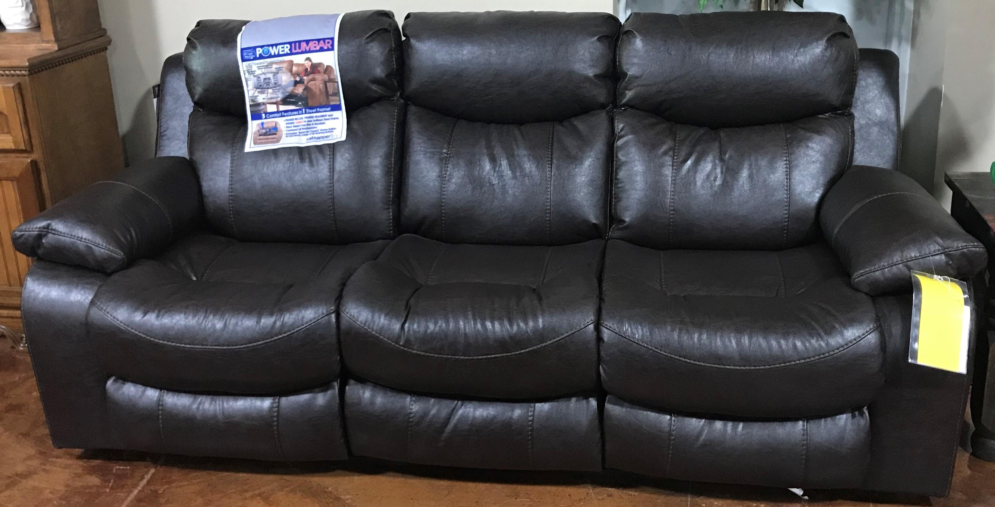 Catnapper Furniture Living Room Power Headrest W Lumbar Lay Flat