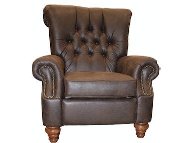 Flexsteel Living Room Fabric High Leg Recliner 501r503b