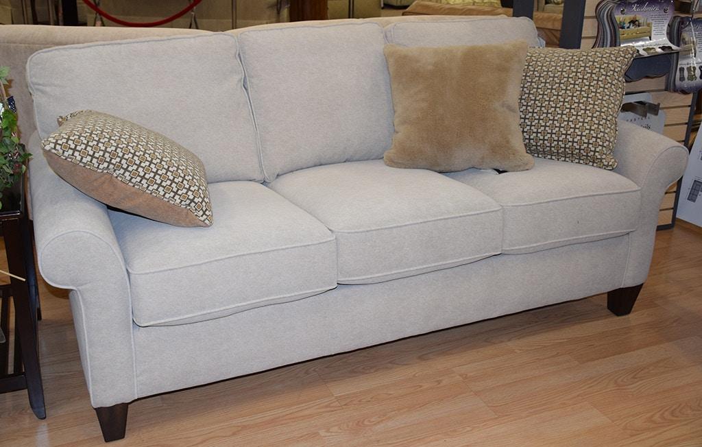 Flexsteel Living Room Leather Sofa 397930lm Flemington