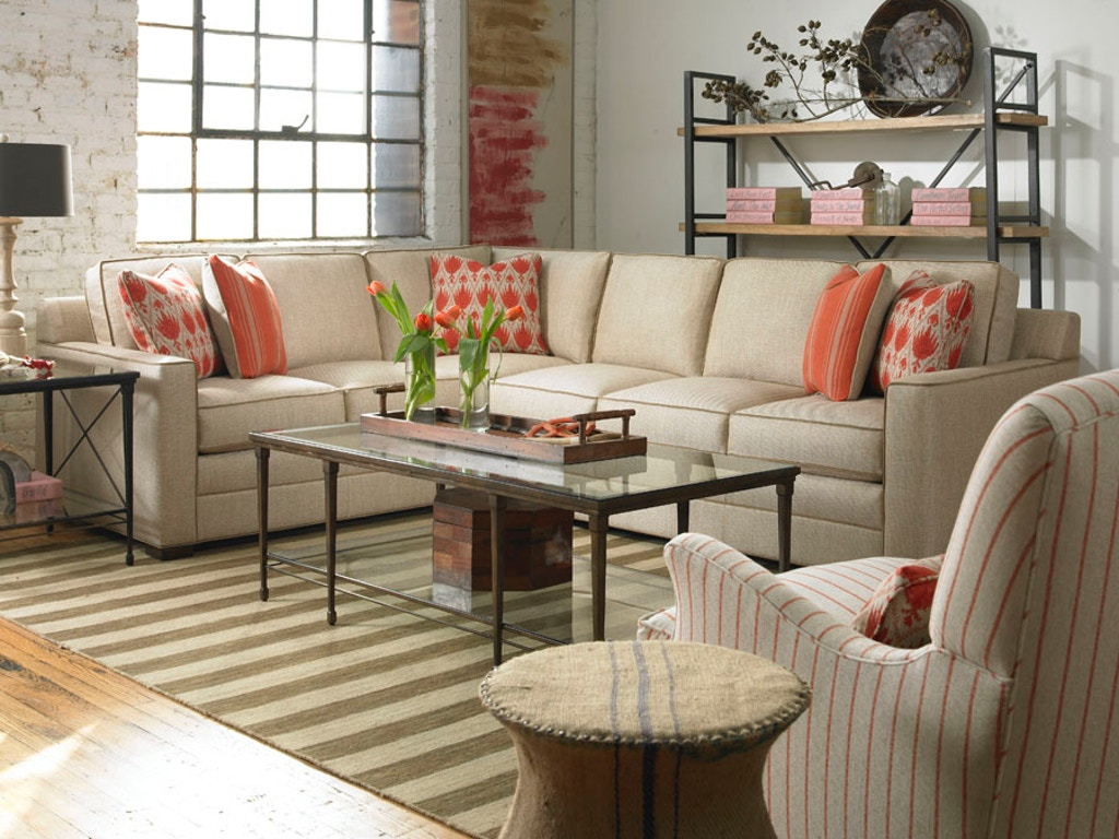 Excellent Vanguard Living Room Summerton Sectional 610 Lcs Hamilton Machost Co Dining Chair Design Ideas Machostcouk