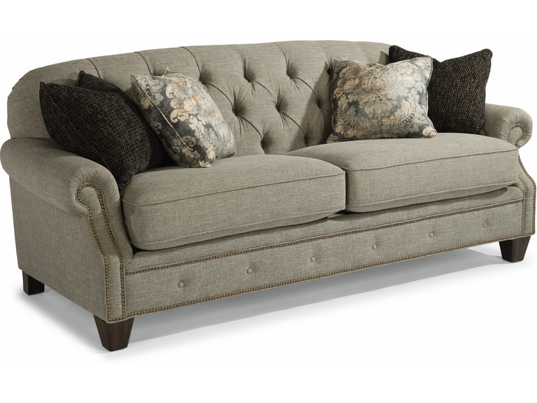 Flexsteel Living Room Fabric Sofa 7386 31 Tin Roof