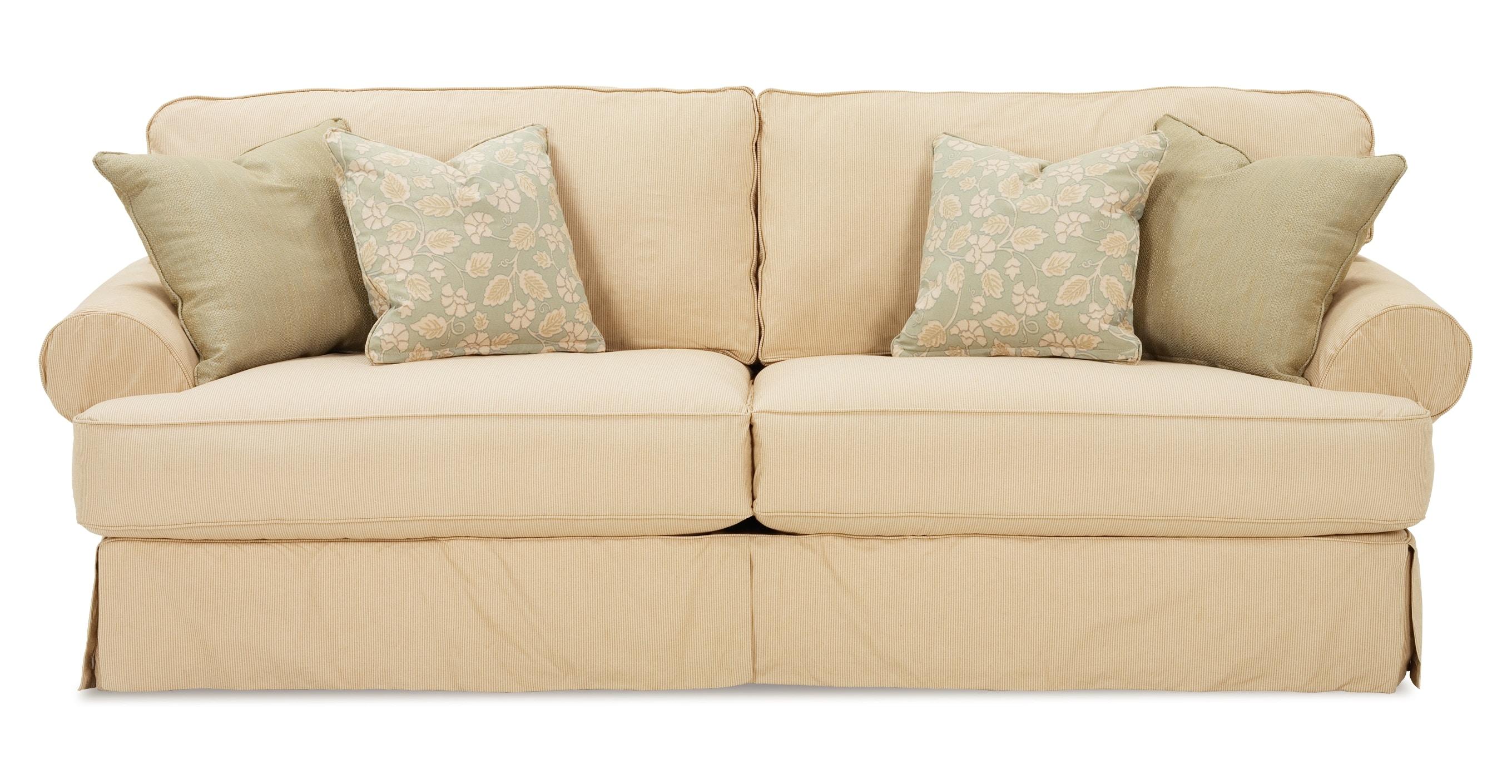 Delicieux Rowe Addison/Montecristo Two Cushion Sofa 7860