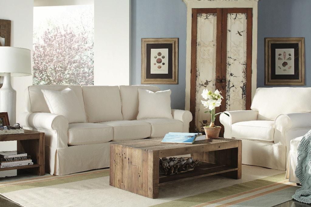 Rowe Nantucket 3 Seat Sofa W Slipcover A910