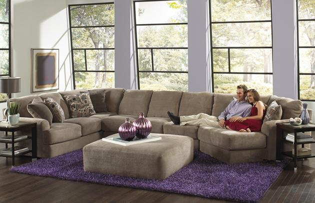 Gentil Jackson Furniture Malibu Sectional 3239 Sectional