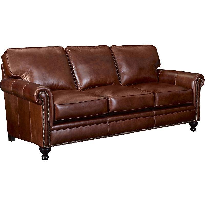 Wonderful Broyhill Harrison Leather Sofa L6751 3