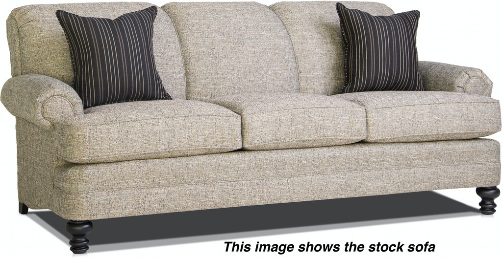 Smith Brothers Three Cushion Sofa 346 10