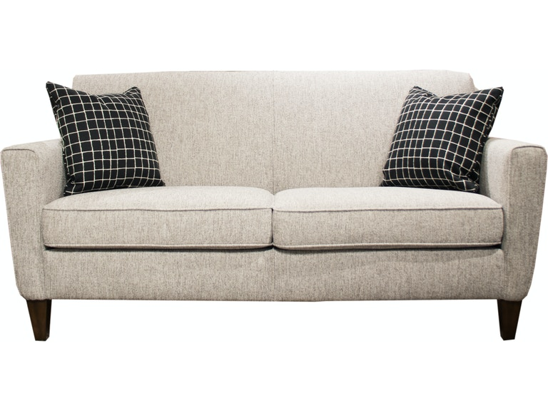 Flexsteel Fabric Two Cushion Sofa 5966 30