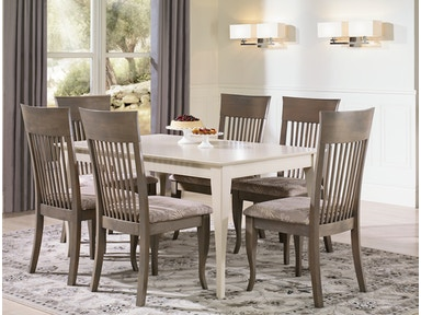 Canadel Rectangular Table with Legs TRE3860-6565 Set