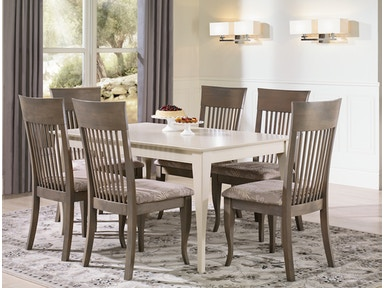 Canadel Rectangular Table With Legs TRE3860 6565 Set