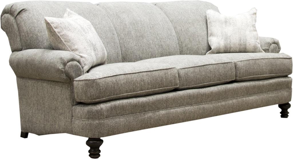 Smith Brothers Three Cushion Sofa 346 10