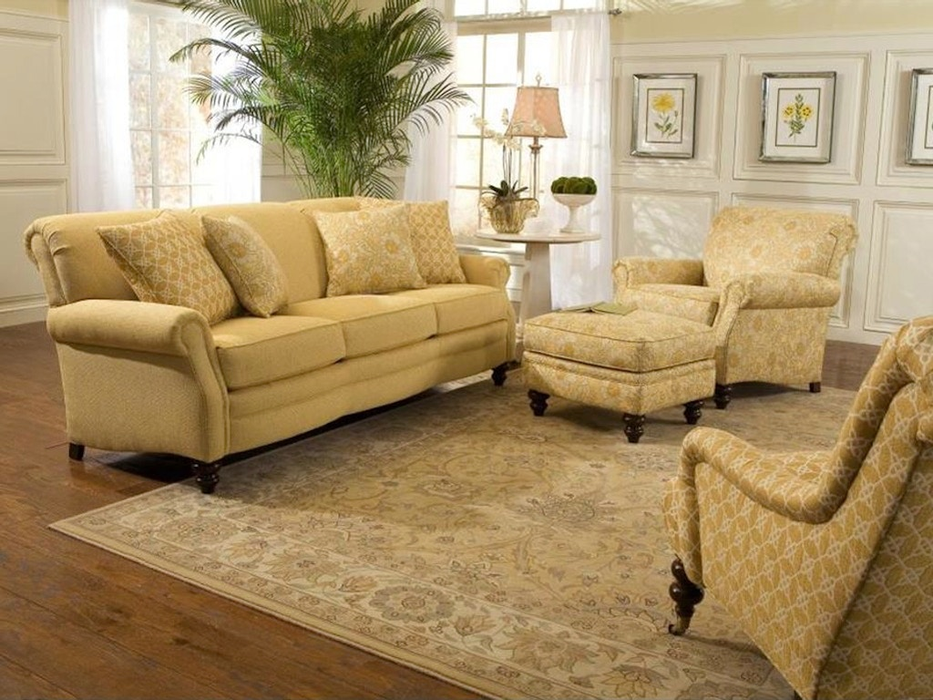 Smith Brothers Three Cushion Sofa 383 10