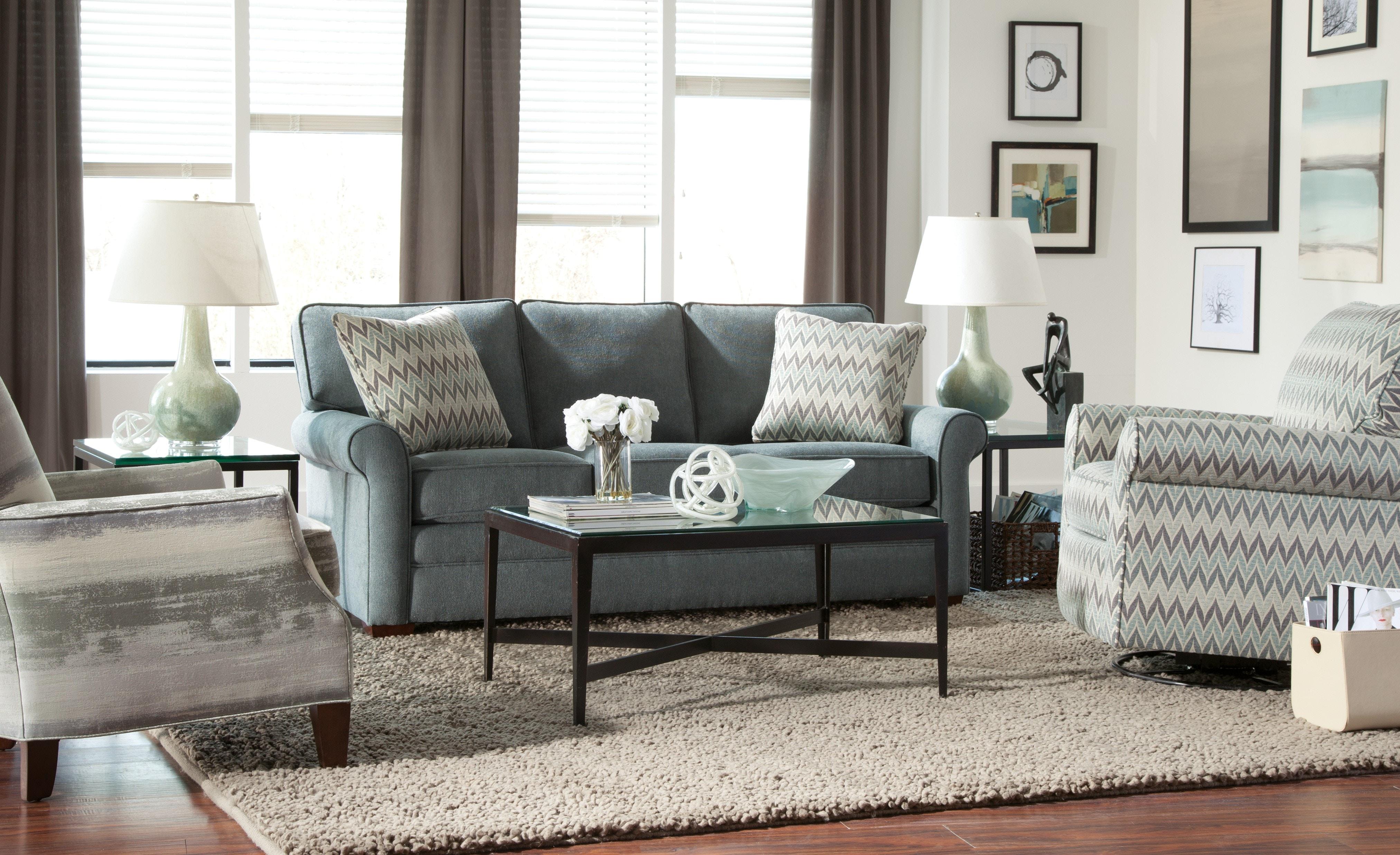 Craftmaster Living Room Sleeper Sofa 75235068 Sleeper CraftMaster
