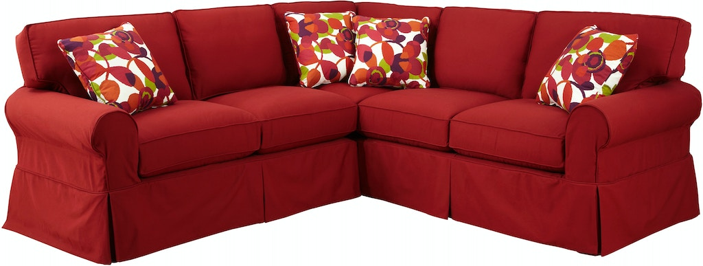 Craftmaster Living Room Sectional 9228 Sect Sleeper Also