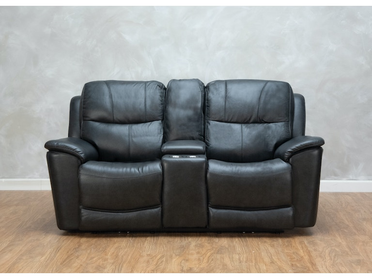 Miraculous Leather Power Reclining Loveseat With Console And Power Headrests Squirreltailoven Fun Painted Chair Ideas Images Squirreltailovenorg