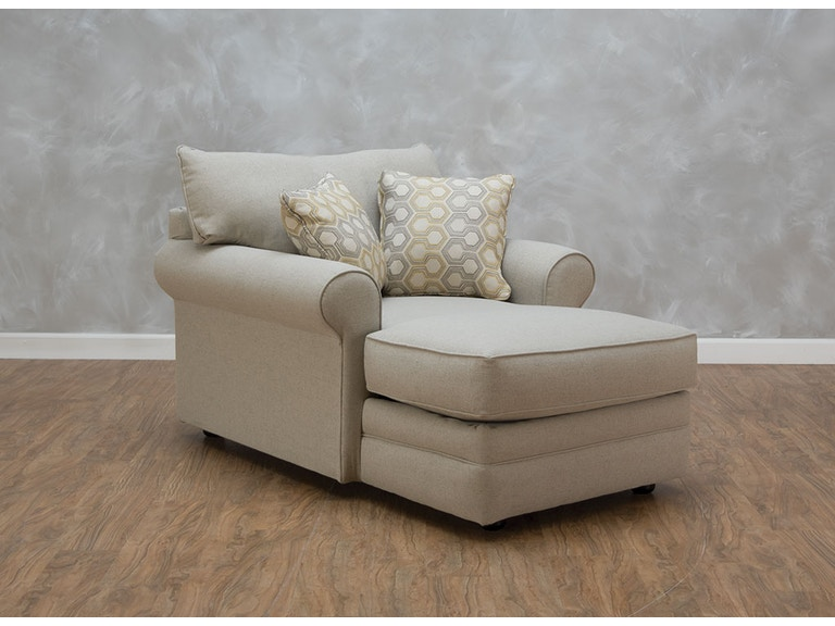 Klaussner Living Room Comfy Ii Chaise 541253 Kittle S
