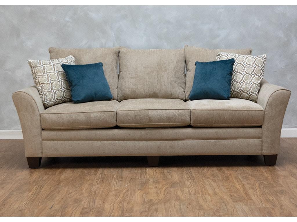 Klaussner Posen Sofa Refil Sofa