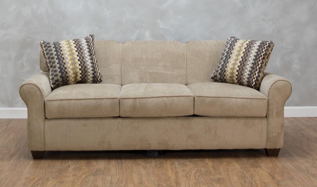 Klaussner Living Room Mayhew Dreamquest Queen Sleeper G