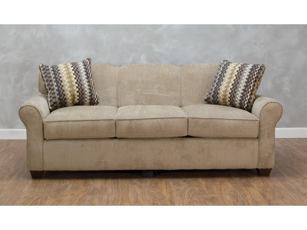 Klaussner Living Room Mayhew Dreamquest Queen Sleeper