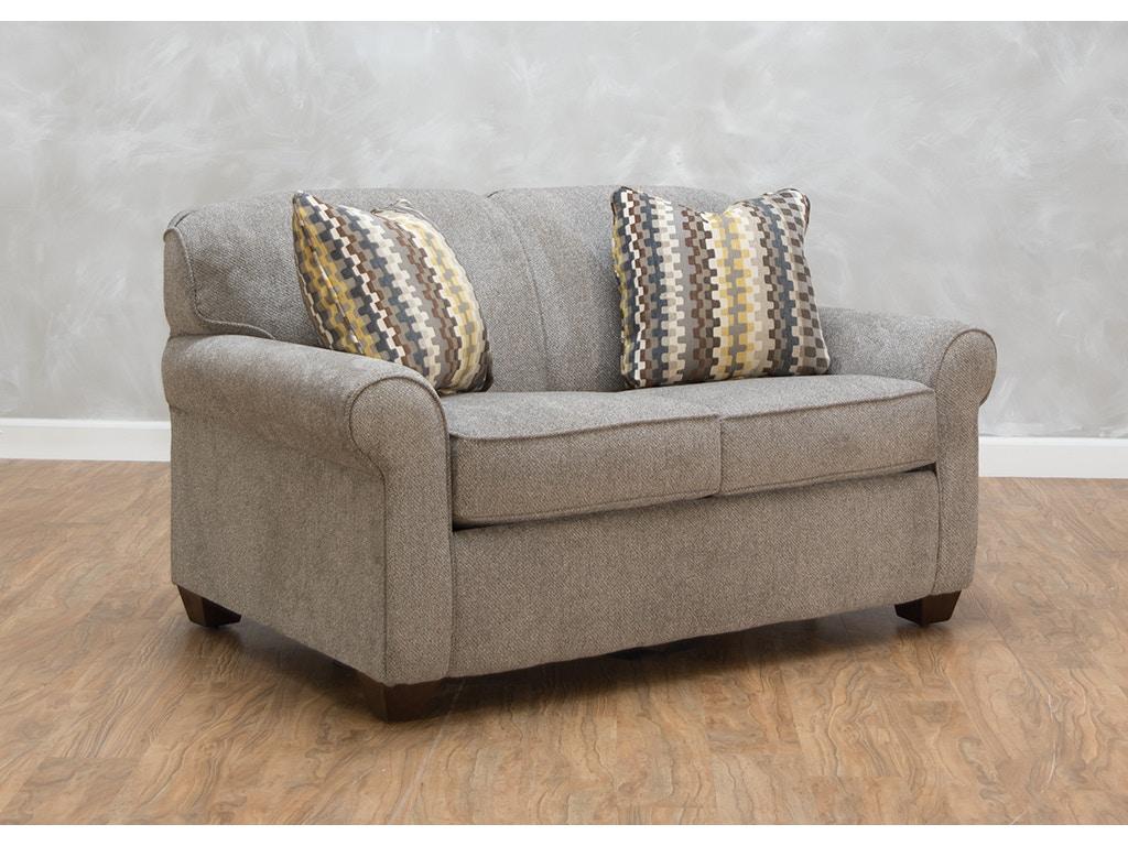 Klaussner Living Room Mayhew Dreamquest Twin Sleeper
