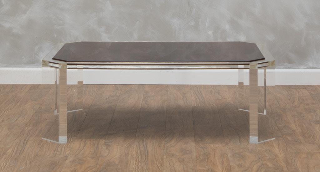 Phoenix Coffee Table With Mahogany Top