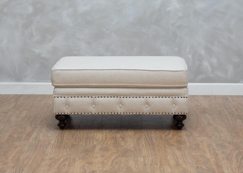 Bernhardt Living Room London Club Ottoman 505138 Kittle S