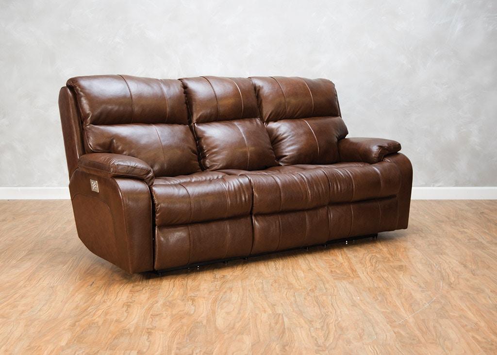 Klaussner Living Room Averett Power Sofa With App 549235