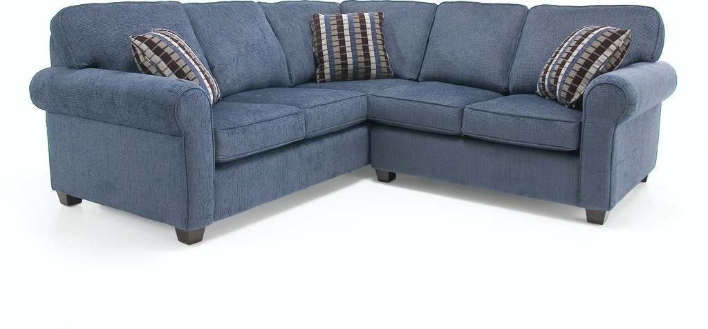 Decor-Rest Living Room Right Hand Facing Corner Sofa Sectional 2588 ...