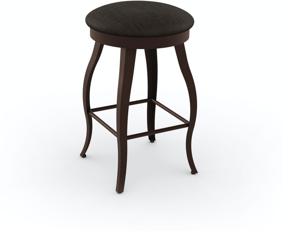 Amisco Bar And Game Room Pearl Swivel Bar Height Stool