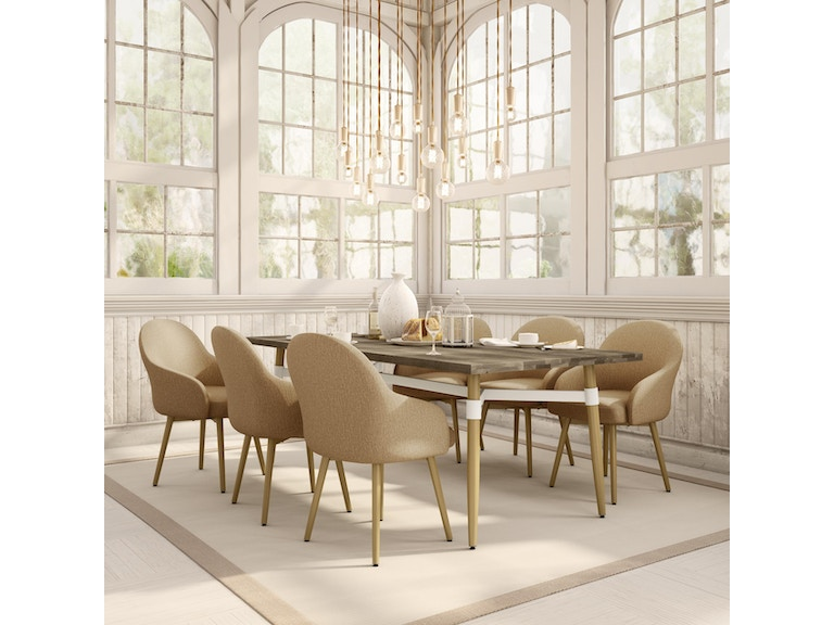 Amisco Dining Room Table Base 50552 At Upper Home Furnishings