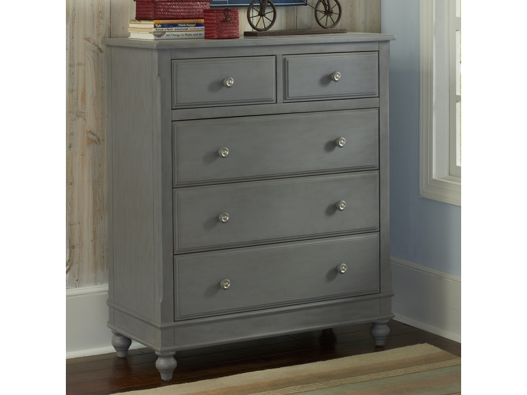 Hilale Kids And Lake House 5 Drawer Chest 672430