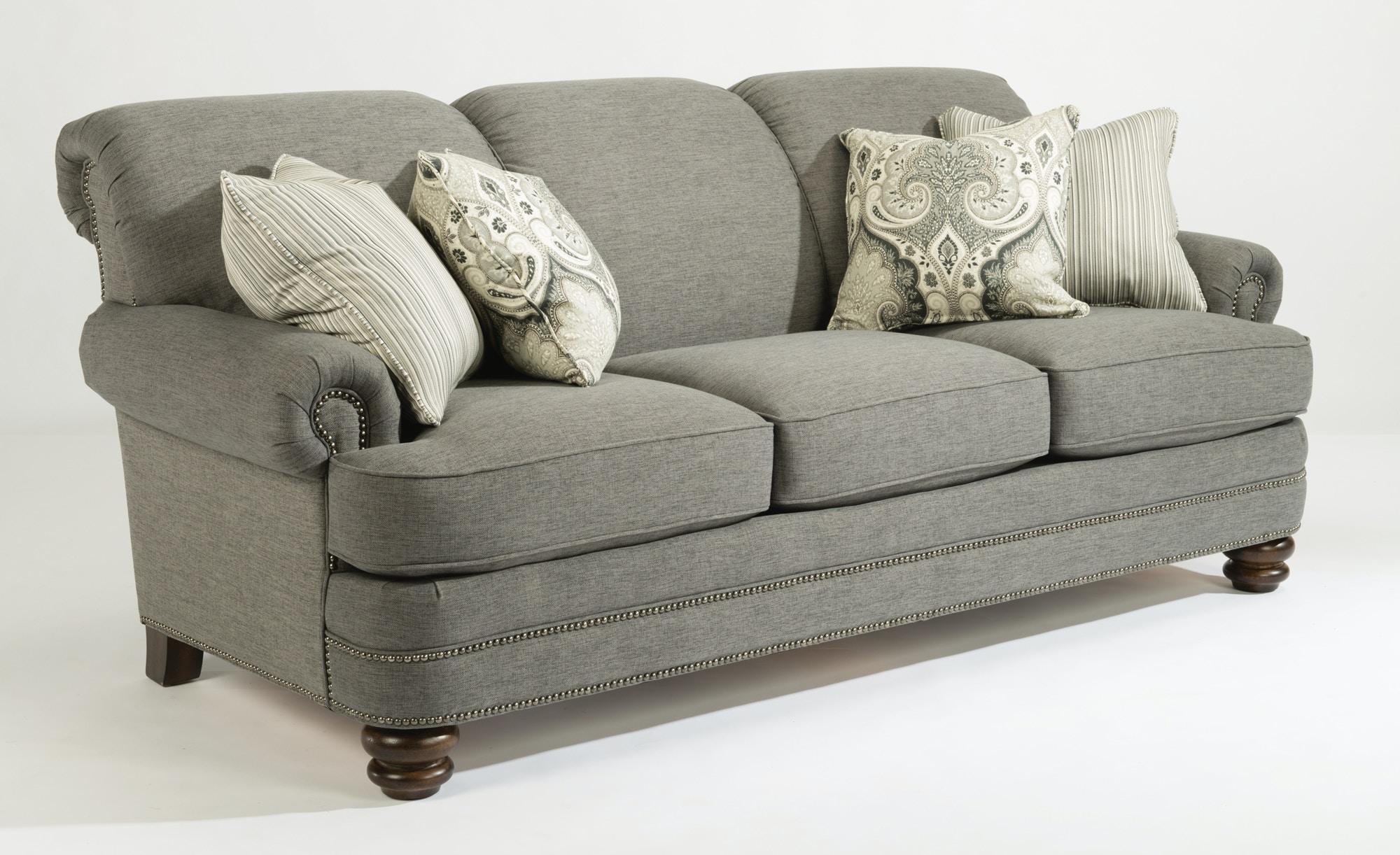 Flexsteel Sofa with Pillows 657955 Talsma Furniture Hudsonville