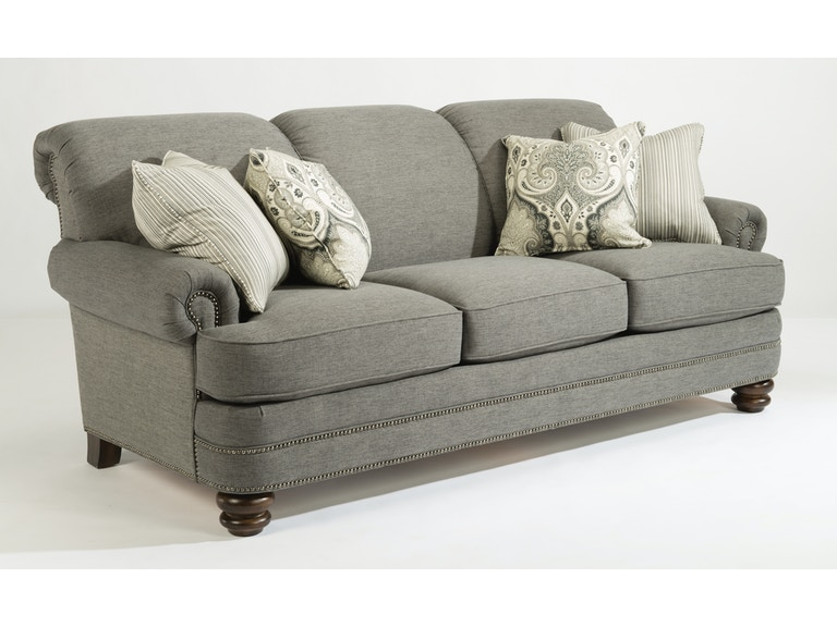 Flexsteel Sofa With Pillows 657955 Talsma Furniture