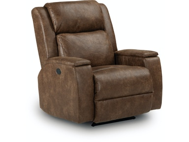 Best Home Furnishings Power Adj Headrest Recliner 606691-Custom