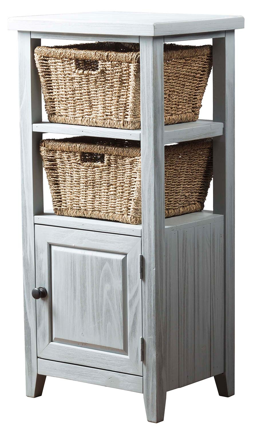 Hillsdale Furniture Tuscan Retreat® Basket Stand With Two (2) Baskets 798551