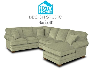 Bassett Great Room Sofa With Pillows 514502 Talsma Furniture Hudsonville Holland Byron
