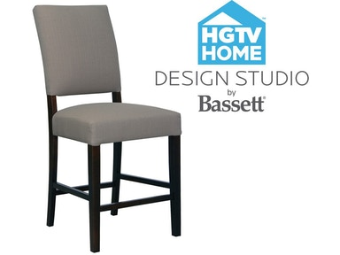 Bassett (Customizable) HGTV Bar Stool HGTV 9000-BS