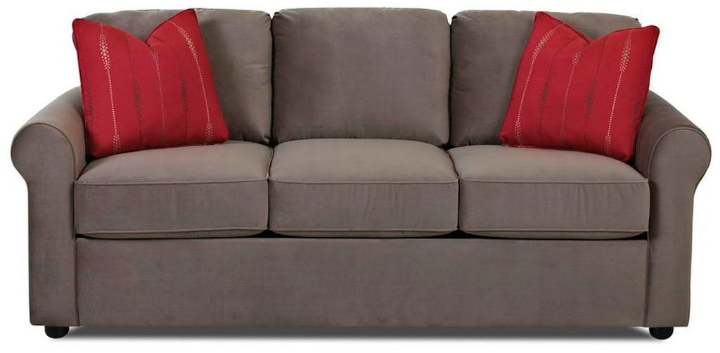 Simple Elegance Silva Sleeper Sofa W Memory Foam Mattress 710049  ~ Sleeper Sofa Memory Foam